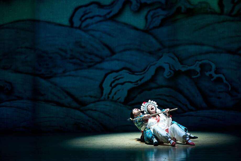 """The White Snake,"" a popular tale from the Tang Dynasty about a man who marries a snake, has been celebrated in China in operas, movies, books and TV shows. It will star Tanya Thai McBride (left) and Amy Kim Waschke at Berkeley Rep. Photo: Jenny Graham, Berkeley Repertory Theatre"