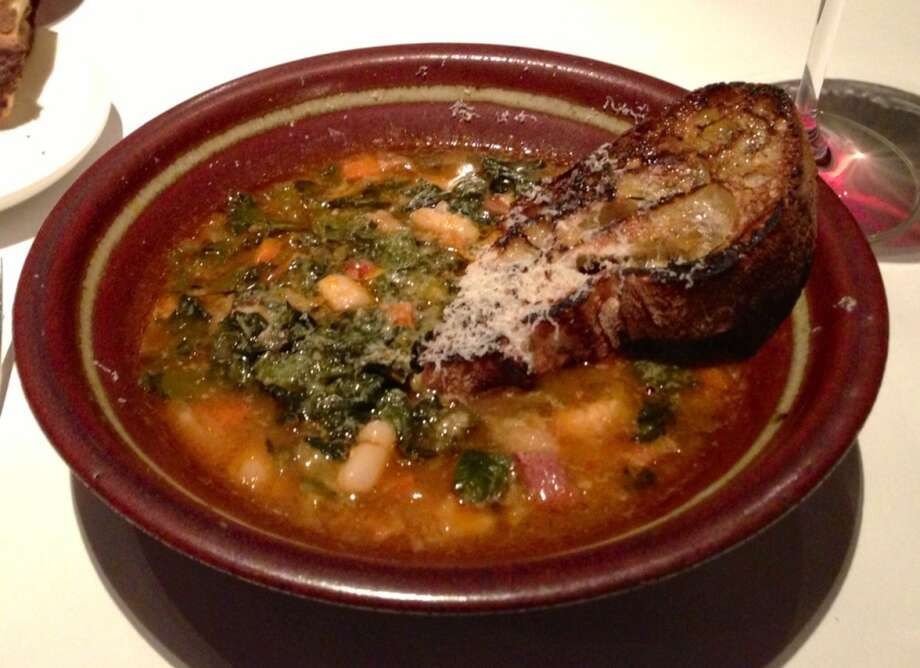 Ribollita bread soup from Bottega in Yountville (Michael Bauer / 2012)