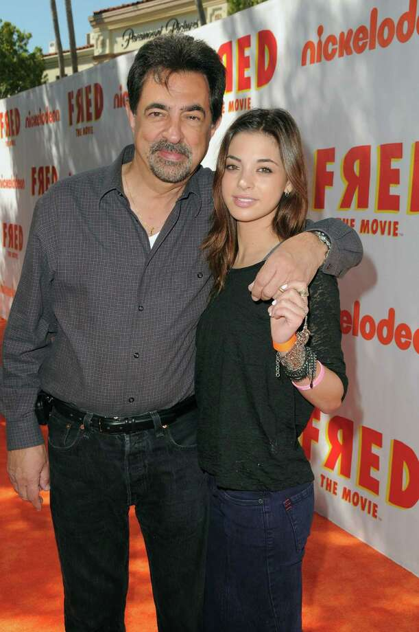 "HOLLYWOOD - SEPTEMBER 11:  Actor Joe Mantegna and Gia Mantegna attend Nickelodeon's ""Fred: The Movie"" premiere screening event at Paramount Theater on September 11, 2010 in Hollywood, California. Based on one of the most popular internet characters of all time, the original film follows Fred's quest to win over his unrequited love, Judy. ""Fred: The Movie"" premieres Saturday, September 18 at 8:00 p.m. (ET/PT) on Nickelodeon.  (Photo by Jordan Strauss/Getty Images for Nickelodeon) Photo: Jordan Strauss / 2010 Getty Images"