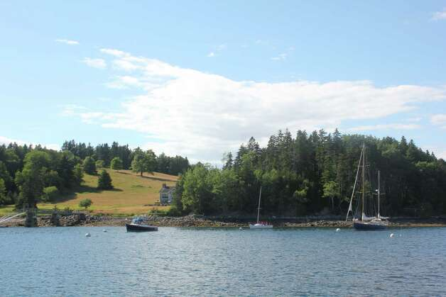 Buck's Harbor, Maine offers a quiet and picturesque spot for a few boats on calm waters Photo: Courtesy Photo