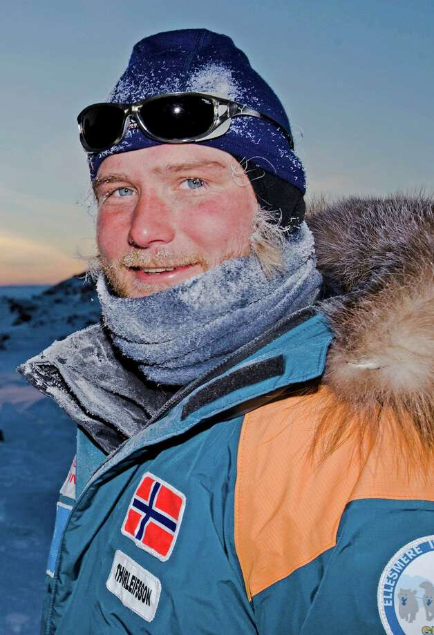 Toby Thorleifsson will talk about some of his past expeditions and also preview a 2013 trip to CanadaâÄôs remote Ellesmere Island during a lecture on Thurs., Nov. 29 at 6 p.m. at The Maritime Aquarium at Norwalk. Photo: Contributed Photo