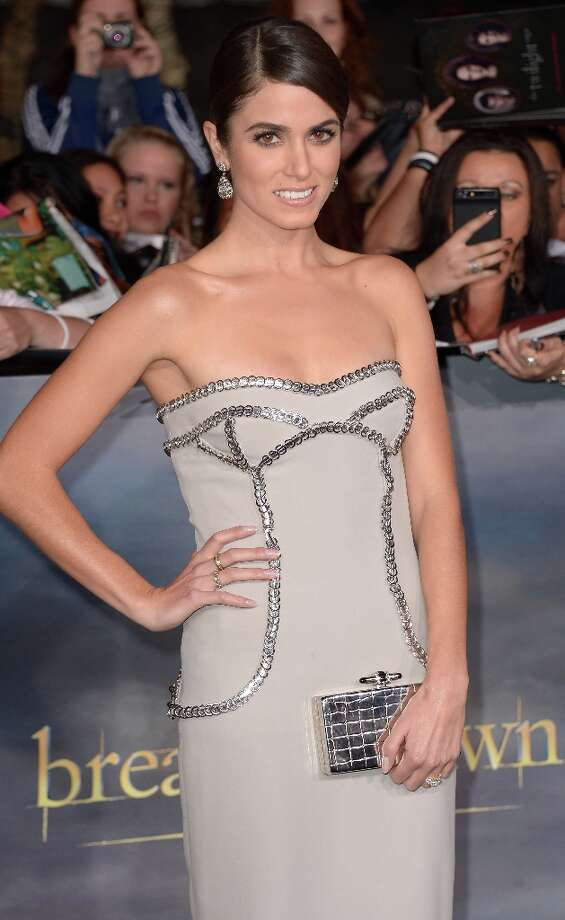 Actress Nikki Reed arrives at the premiere of 'The Twilight Saga: Breaking Dawn - Part 2' at Nokia Theatre L.A. Live on November 12, 2012 in Los Angeles, California. Photo: JOE KLAMAR, AFP/Getty Images / AFP