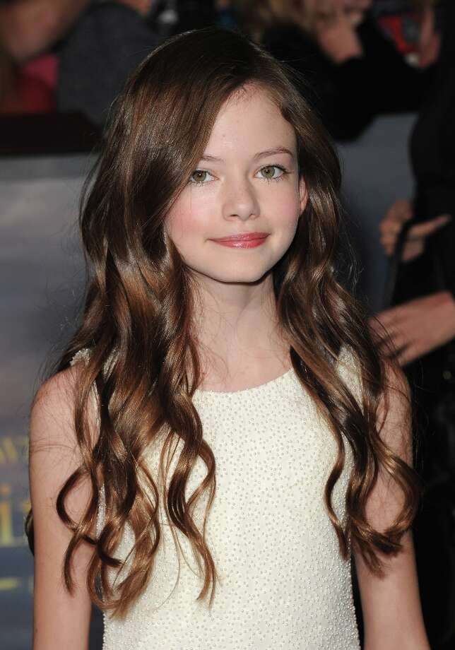 "Actress Mackenzie Foy arrives at the premiere of Summit Entertainment's ""The Twilight Saga: Breaking Dawn - Part 2"" at Nokia Theatre L.A. Live on November 12, 2012 in Los Angeles, California.  (Photo by Jason Merritt/Getty Images) Photo: Jason Merritt, Getty Images / 2012 Getty Images"