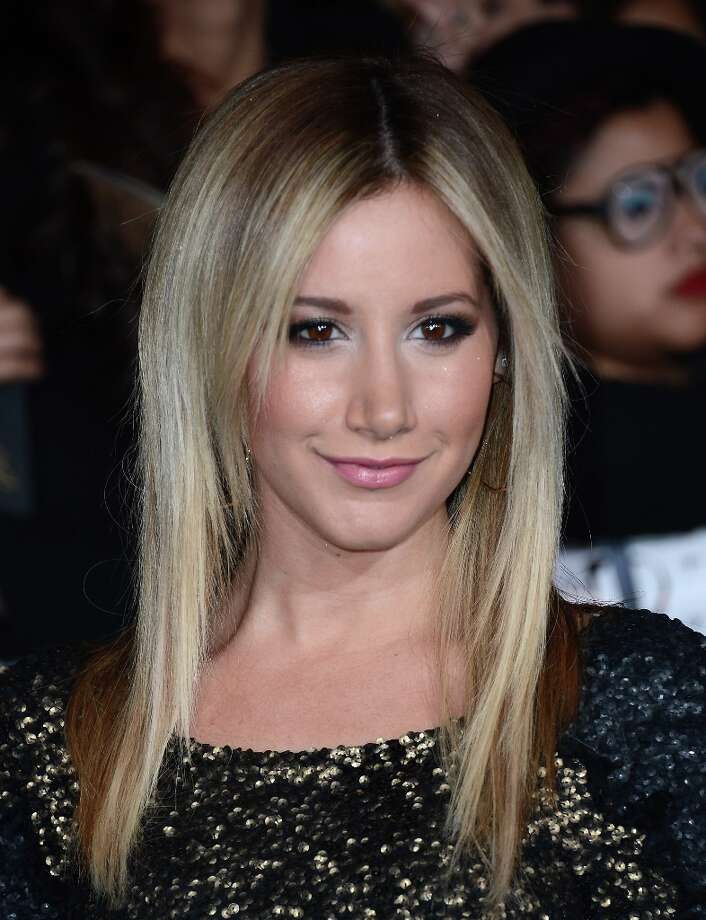 "Actress Ashley Tisdale arrives at the premiere of Summit Entertainment's ""The Twilight Saga: Breaking Dawn Part 2"" at Nokia Theatre L.A. Live on November 12, 2012 in Los Angeles, California.  (Photo by Michael Buckner/Getty Images) Photo: Michael Buckner, Getty Images / 2012 Getty Images"