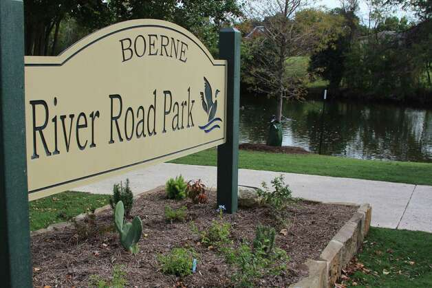 New sidewalks, signage and other amenities have spruced up Boerne's River Road Park. Now the city wants to make sure that water levels keep the Cibolo Creek clean and attractive and is pursuing a grant to fund the use of recycled city water. Photo: Lauri Gray Eaton / Northwest Wee