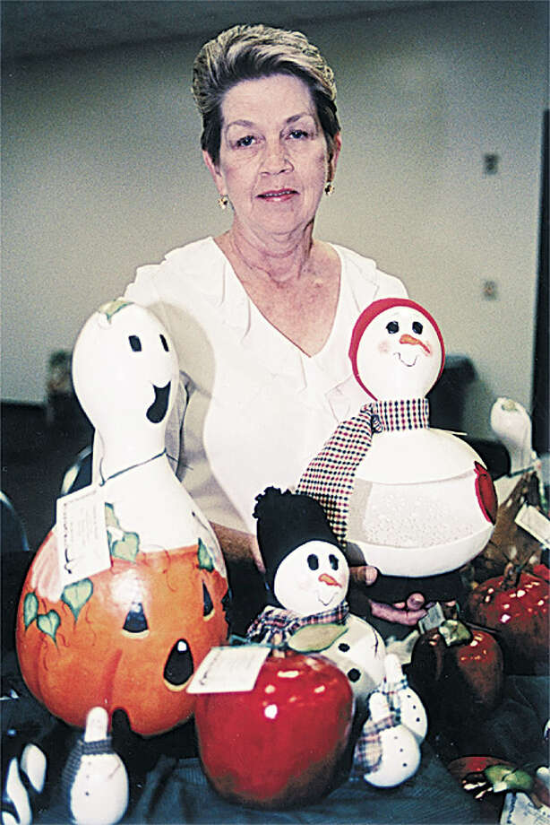 Your Halloween decorations clash with your Christmas ones.  Photo: Suzanne Rehak, Special To The Chronicle / Freelance
