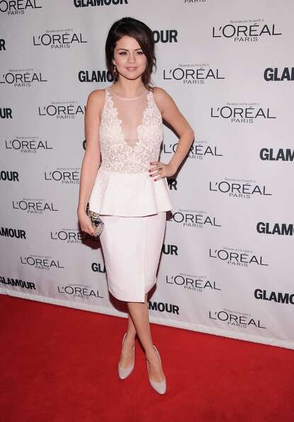 Selena Gomez attends the 22nd annual Glamour Women of the Year Awards at Carnegie Hall on November 1