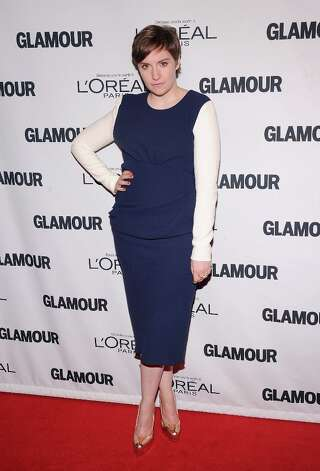 Lena Dunham attends the 22nd annual Glamour Women of the Year Awards at Carnegie Hall on November 12, 2012 in New York City.  (Photo by Jamie McCarthy/Getty Images) Photo: Jamie McCarthy, Getty Images / 2012 Getty Images