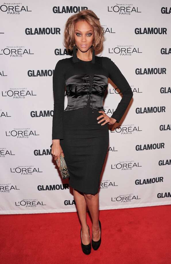 Tyra Banks attends the 22nd annual Glamour Women of the Year Awards at Carnegie Hall on November 12, 2012 in New York City.  (Photo by Jamie McCarthy/Getty Images) Photo: Jamie McCarthy, Getty Images / 2012 Getty Images
