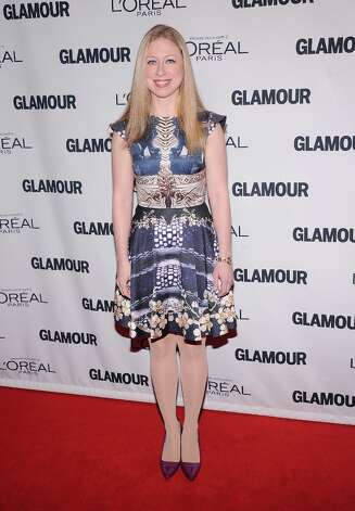 Chelsea Clinton attends the 22nd annual Glamour Women of the Year Awards at Carnegie Hall on November 12, 2012 in New York City.  (Photo by Jamie McCarthy/Getty Images) Photo: Jamie McCarthy, Getty Images / 2012 Getty Images