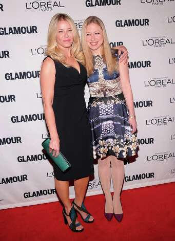 Chelsea Handler and Chelsea Clinton attend the 22nd annual Glamour Women of the Year Awards at Carnegie Hall on November 12, 2012 in New York City.  (Photo by Jamie McCarthy/Getty Images) Photo: Jamie McCarthy, Getty Images / 2012 Getty Images