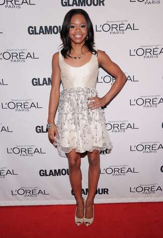 Olympic gymnast  Gabrielle Douglas attends the 22nd annual Glamour Women of the Year Awards at Carnegie Hall on November 12, 2012 in New York City.  (Photo by Jamie McCarthy/Getty Images) Photo: Jamie McCarthy, Getty Images / 2012 Getty Images