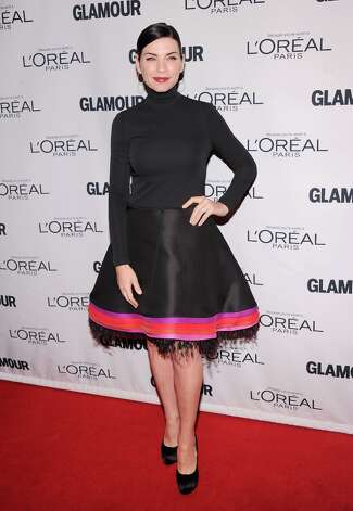 Julianna Margulies attends the 22nd annual Glamour Women of the Year Awards at Carnegie Hall on November 12, 2012 in New York City.  (Photo by Jamie McCarthy/Getty Images) Photo: Jamie McCarthy, Getty Images / 2012 Getty Images