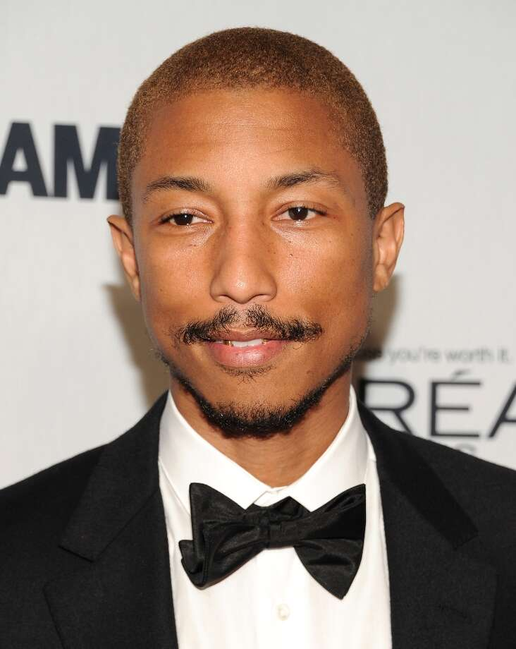 """Pharrell Williams attends Glamour Magazine's 22nd annual """"Women of the Year Awards"""" at Carnegie Hall on Monday Nov. 12, 2012 in New York. (Photo by Evan Agostini/Invision/AP) Photo: Evan Agostini, Evan Agostini/Invision/AP / Invision2012"""