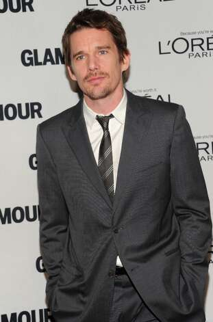 "Ethan Hawke attends Glamour Magazine's 22nd annual ""Women of the Year Awards"" at Carnegie Hall on Monday Nov. 12, 2012 in New York. (Photo by Evan Agostini/Invision/AP) Photo: Evan Agostini, Evan Agostini/Invision/AP / Invision2012"