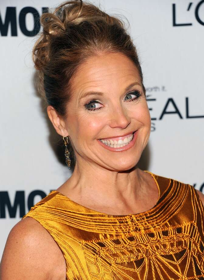 "Television journalist Katie Couric attends Glamour Magazine's 22nd annual ""Women of the Year Awards"" at Carnegie Hall on Monday Nov. 12, 2012 in New York. (Photo by Evan Agostini/Invision/AP) Photo: Evan Agostini, Evan Agostini/Invision/AP / Invision2012"