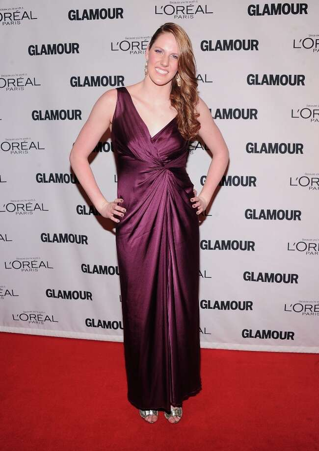Missy Franklin attends the 22nd annual Glamour Women of the Year Awards at Carnegie Hall on November 12, 2012 in New York City.  (Photo by Jamie McCarthy/Getty Images) Photo: Jamie McCarthy, Getty Images / 2012 Getty Images