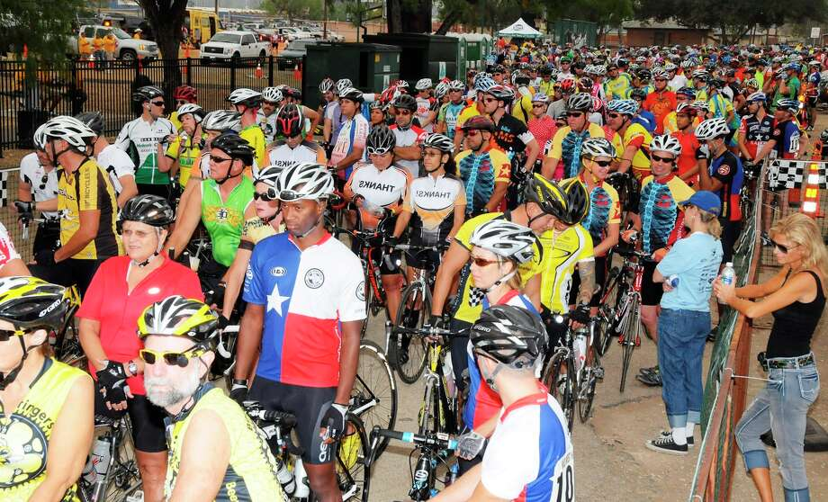 Cyclists in the 2011 LaVernia Wild West Hammerfest Bicycle Ride have another option to fight cystic fibrosis. Photo: Courtesy Photo