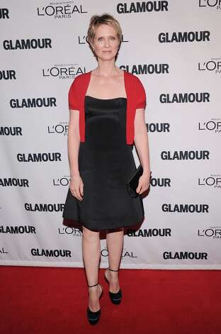Cynthia Nixon attends the 22nd annual Glamour Women of the Year Awards at Carnegie Hall on November 12, 2012 in New York City.  (Photo by Jamie McCarthy/Getty Images) Photo: Jamie McCarthy, Getty Images / 2012 Getty Images