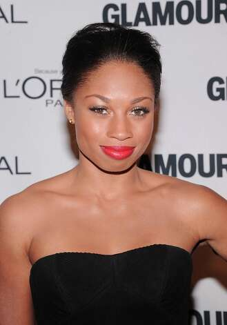Olympic gold medalist Allyson Felix attends the 22nd annual Glamour Women of the Year Awards at Carnegie Hall on November 12, 2012 in New York City.  (Photo by Jamie McCarthy/Getty Images) Photo: Jamie McCarthy, Getty Images / 2012 Getty Images