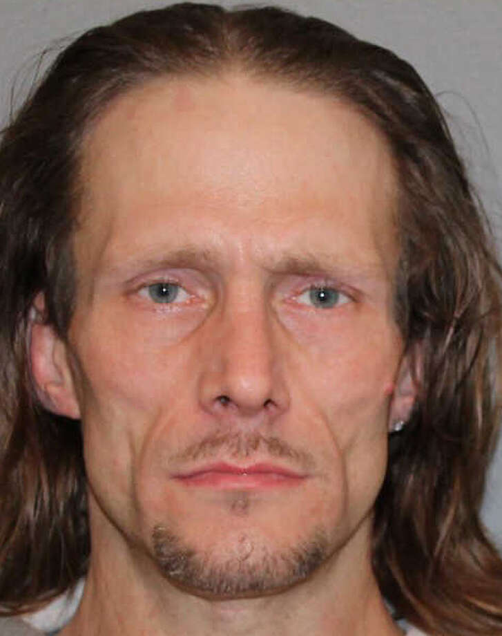 Joseph Palmer, 42, of Derby has been arrested by Shelton Police in connection with an October 15th, 2012 burglary at the Buck Stop Citgo gas station on Shelton Ave. Palmer is charged with Burglary 3rd Degree, Larceny 3rd Degree, and Criminal Mischief 2nd Degree, and is being held on a $25,000 bond. Photo: Contributed Photo