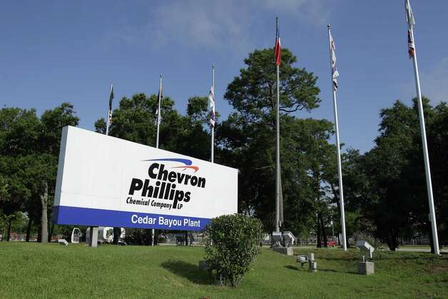 Sign shown outside the Chevron Phillips Chemical Company's Cedar Bayou Plant, 9500 I-10 East, Tuesday, June 5, 2012, in Baytown. Photo: Melissa Phillip, Houston Chronicle / © 2012 Houston Chronicle