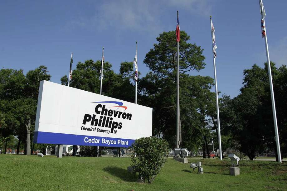 Sign shown outside the Chevron Phillips Chemical Company's Cedar Bayou Plant, 9500 I-10 East, Tuesday, June 5, 2012, in Baytown. Photo: Melissa Phillip, Houston Chronicle / © 2012 Houston Chronicle