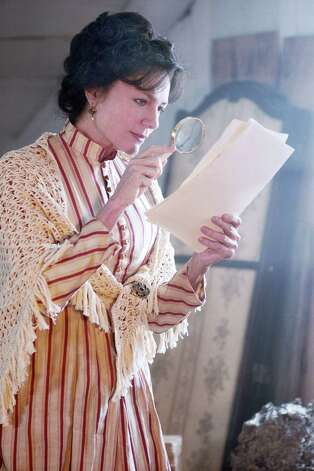 "Jacqueline Bisset as Isabella finds herself impressed as she looks over the writings of her granddaughter on the Hallmark Channel's ""An Old-Fashioned Thanksgiving,"" which will air November 22, 2008. Photo: Handout, MCT / MCT"