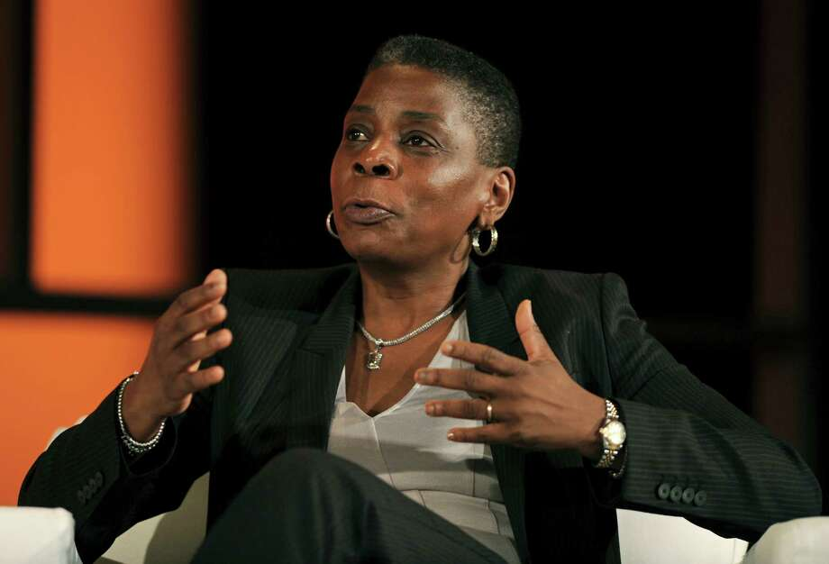 Ursula Burns, chief executive officer of Xerox Corp., speaks at the World Business Forum in New York, U.S., on Wednesday, Oct. 3, 2012. Photo: Peter Foley, Bloomberg / © 2012 Bloomberg Finance LP
