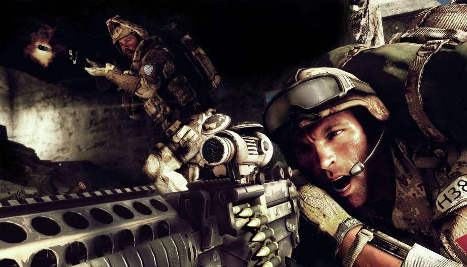 "A scene from ""Medal of Honor: Warfighter."" Seven members of Navy SEAL  Team 6 have been reprimanded for disclosing classified data to game makers. Photo: HOEP / Electronic Arts Inc."
