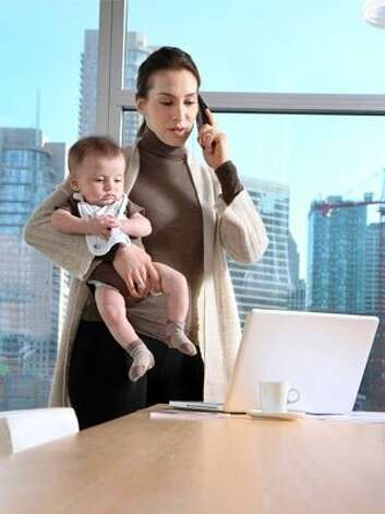 10. Don't feel guilty for working or not working  Both child care and maternity leave were invented for a reason for you to take advantage of! Regardless of your feelings about the current debate of whether women can have it all, make a choice that is right for your family and feel good about it. Your kids will thank you later. Photo: Art Vandalay, Getty Images