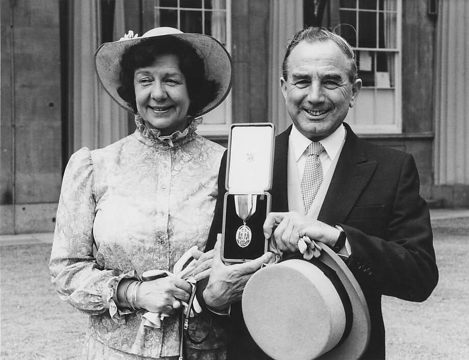 Sir Rex Hunt, here with his wife, Mavis, was captured and sent to Uruguay during the brief war. Photo: Keystone, Getty Images