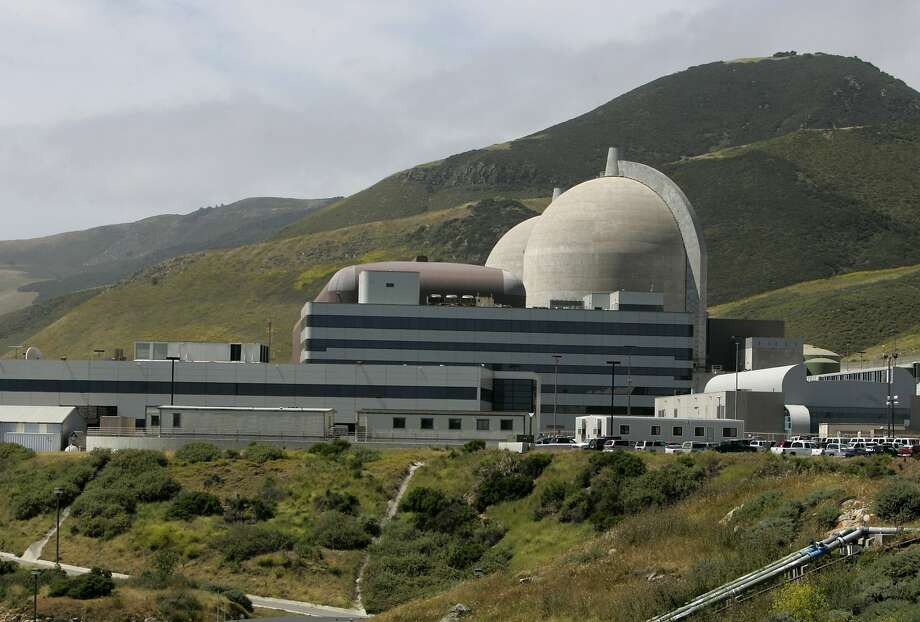 PG&E's Diablo Canyon nuclear power plant in Avila Beach, Calif. on Friday, May 26, 2006. The two spent fuel storage pools are nearing its capacity of 2,648 cells so plant officials are constructing a dry cask storage area to hold future radioactive fuel cell waste.  PAUL CHINN/The Chronicle Photo: Paul Chinn, The Chronicle
