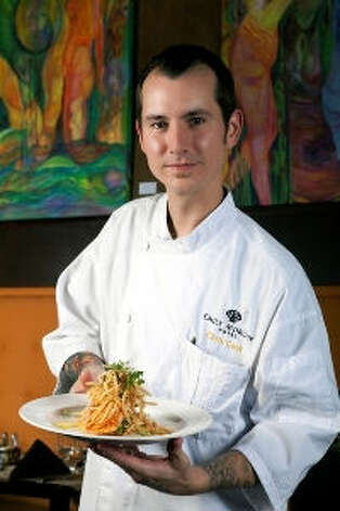 Local chef Chris Cook will be featured on a Food Network show. Photo courtesy of Emily Morgan Hotel.
