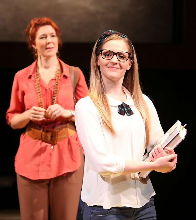 "Kim Martin-Cotten (left) is Lillian and Riley Krull is Nora in Magic Theatre's world premiere of ""Another Way Home."" Photo: Jennifer Reiley"