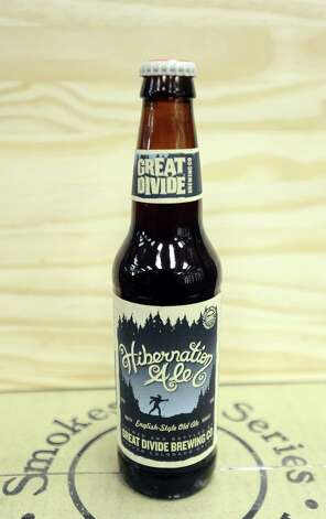 The Hibernation Ale (8.70% ABV) is an Old Ale styled beer brewed by Great Divide Brewing Company out of Colorado.  This beer can be purchased locally at Millers Liquor.   Photo taken: Randy Edwards/The Enterprise