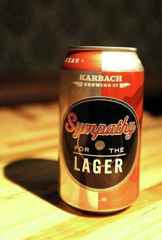 The Symphany For The Lager (4.90% ABV) is an American Amber/ Red Lager brewed by Karbach Brewing Company out of Houston.  This beer can be purchased at The Office located in Madisons on Dowlen.   Photo taken: Randy Edwards/The Enterprise