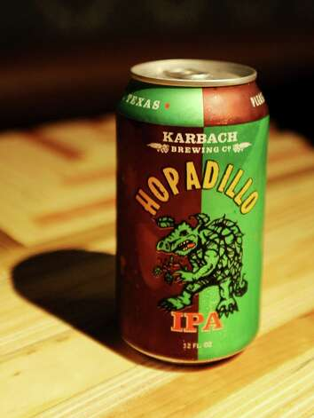 The Hopadillo IPA (6.60% ABV) is an American IPA brewed by Karbach Brewing Company out of Houston.  This beer can be purchased at The Office located in Madisons on Dowlen.   Photo taken: Randy Edwards/The Enterprise