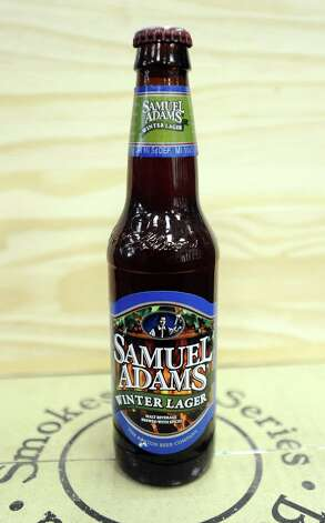 The Samuel Adams Winter Lager (5.50% ABV) is a Bock styled beer  brewed by Boston Beer Company ( Samuel Adams) out of Massachusetts.  This beer can be purchased locally at Millers Liquor, Debb's Liquor (St. Charles Plaza), and Spec's.   Photo taken: Randy Edwards/The Enterprise
