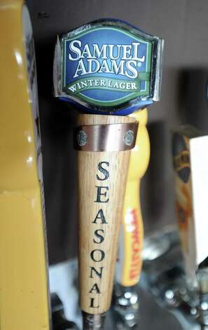 The Samuel Adams Winter Lager (5.50% ABV) is a Bock styled beer  brewed by Boston Beer Company ( Samuel Adams) out of Massachusetts.  This beer can be purchased locally on draft at Madisons on Dowlen.   Photo taken: Randy Edwards/The Enterprise