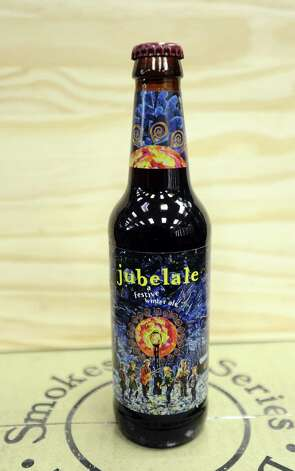 The Jubelale (6.70% ABV) is a Winter Warmer styled beer that is brewed by Deschutes Brewery out of Oregon.  This beer can be purchased locally at Millers Liquor and Spec's.   Photo taken: Randy Edwards/The Enterprise