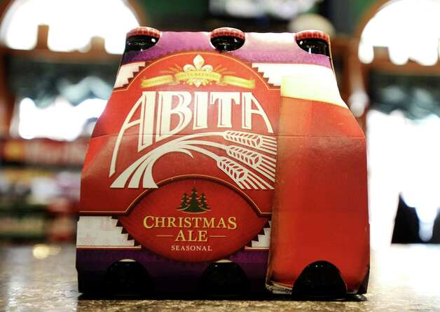 The Abita Christmas Ale (6.13% ABV) is an Amber Ale brewed by the Abita Brewing Company out of Louisiana.  This beer can be purchased locally at Millers Liquor, Debb's Liquor (St. Charles Plaza), and Spec's.   Photo taken: Randy Edwards/The Enterprise