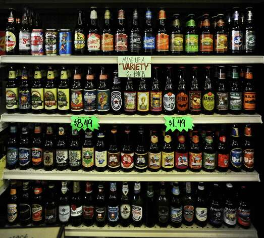 Miller's Liquor on Phelan has a great selection of craft beer.  You can also build your own 6 pack in the store.   Photo taken: Randy Edwards/The Enterprise
