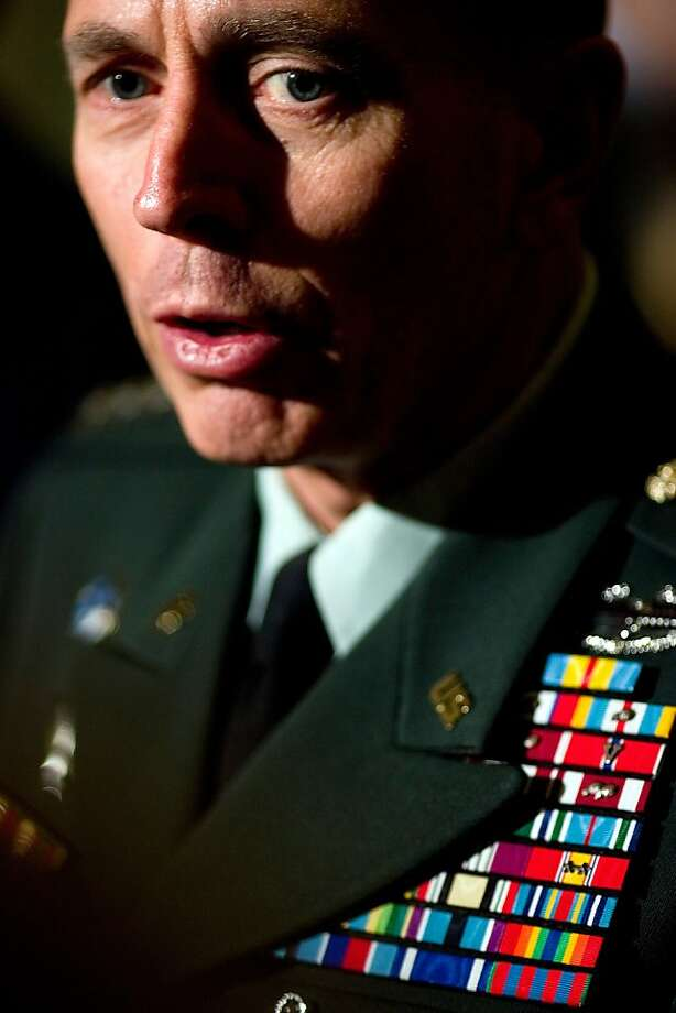 The FBI secured e-mails to, from and about Gen. David Petraeus that led to his fall. Photo: Brendan Smialowski, Getty Images