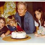 The birthday celebration has always been a big deal to the kids (two girls are ours/two boys, their cousins-who-seemed-just-like-brothers), and whenever possible we get together for the blowin' out of the candles.  (Linda Doll / MySanAntonio.com)