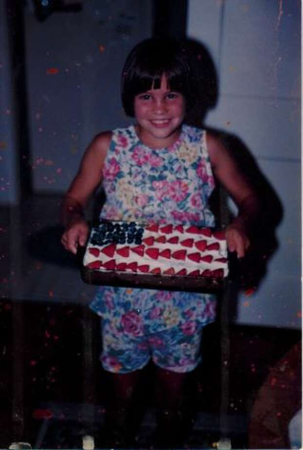 Our daughter Tracy Bocquin on July 4, 1994. (Karen Bocquin / MySanAntonio.com)