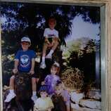 "The ""Lyle"" Grandkids at the San Antonio Zoo in 2000. From top down: Matt, Scott, Denise, Christy, & Todd. (Carol Wilson / MySanAntonio.com)"
