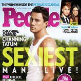 This magazine cover image released Wednesday, Nov. 14, 2012, by People shows actor Channing Tatum on the cover of People's Sexiest Man Alive special double issue.