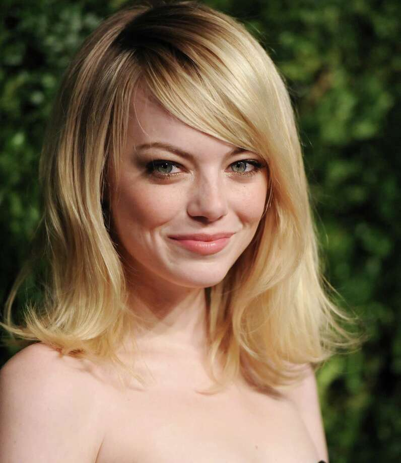 Actress Emma Stone attends the 2012 CFDA / Vogue Fashion Fund Awards on Tuesday Nov. 13, 2012 in New York. Photo: Evan Agostini, Evan Agostini/Invision/AP / Invision