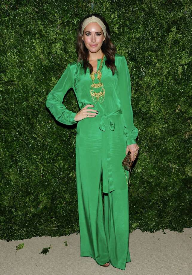 British television presenter Louise Roe attends the 2012 CFDA / Vogue Fashion Fund Awards on Tuesday Nov. 13, 2012 in New York. Photo: Evan Agostini, Evan Agostini/Invision/AP / Invision